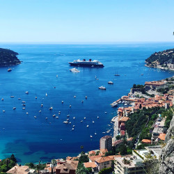 7 hours private shore excursions from the port of Antibes, Cannes, Monaco, Nice, Villefranche